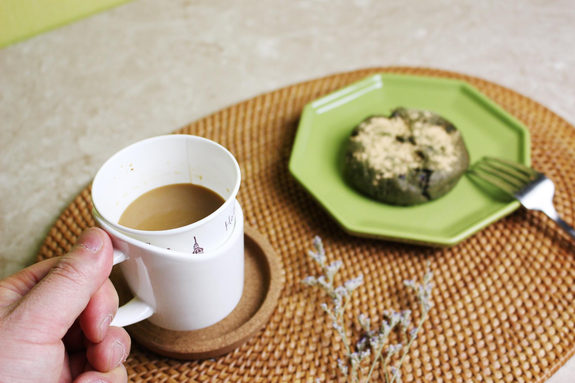 도자기 종이컵 홀더 컵받침 4색 - White, Beige, Olive, Black - 황공방, 8,000원, 주방소품, 쟁반/트레이