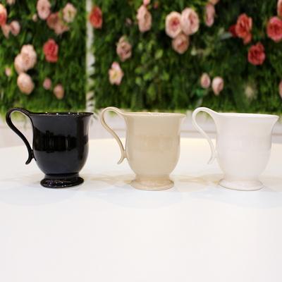 클래식 머그잔 홈 카페 머그컵 커피잔 찻잔 - 유광3색