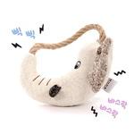 반려동물 장난감 헙스 멜란지 토이 코끼리 링