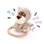 반려동물 장난감 헙스 멜란지 토이 호랑이 로프링