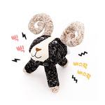 반려동물 장난감 헙스 멜란지 토이 염소