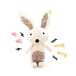반려동물 장난감 헙스 멜란지 토이 토끼