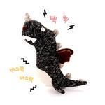 반려동물 장난감 헙스 멜란지 토이 공룡(블랙)