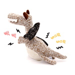 반려동물 장난감 헙스 멜란지 토이 공룡(브라운)
