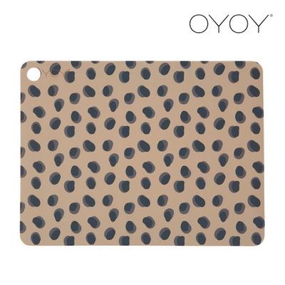 오이오이 플레이스매트_레오파드닷(Leopard Dots)_2 pcs