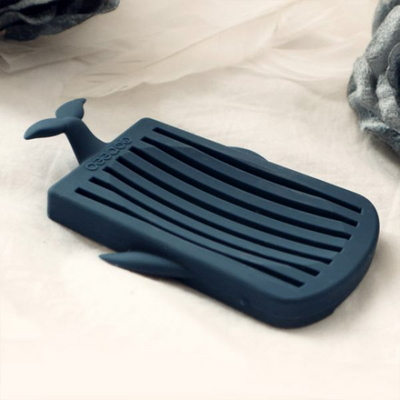 디어웨일즈 실리콘 고래 비누받침 트레이