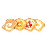 갓샵 토스트파우치 4종 식빵파우치 특이한 인싸 필통
