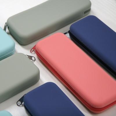 파스텔 실리콘필통 4color 생활방수 실리콘 파우치