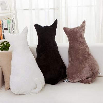 3Color 예쁜쿠션 고양이인형 거실쇼파인테리어