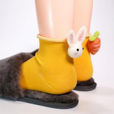 갓샵 핵인싸템 토끼당근양말 4color 귀여운예쁜동물삭스