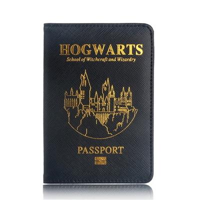 호그와트 금박 여권케이스 해리포터 컨셉 지갑 굿즈