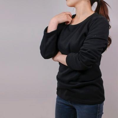 NPF 여성남성 기모 이너 티셔츠 긴팔 티 내복 이너웨어