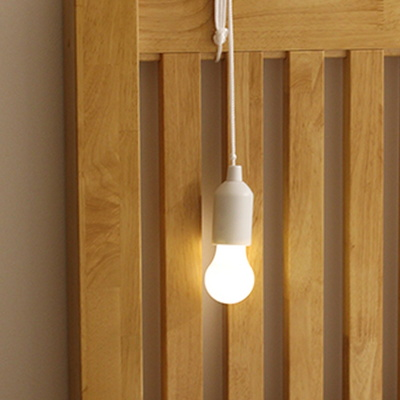 줄로 당기는 건전지 전구 조명 무선 감성캠핑 LED전구