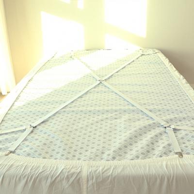 NPL 대형 침대 매트 커버 시트 고정 집게 밴드 2color