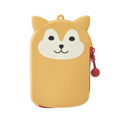 리히트랩 푸니라보 동물 실리콘 패스파우치 지갑
