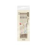 모나미 153 5본입 플라워 펜 세트