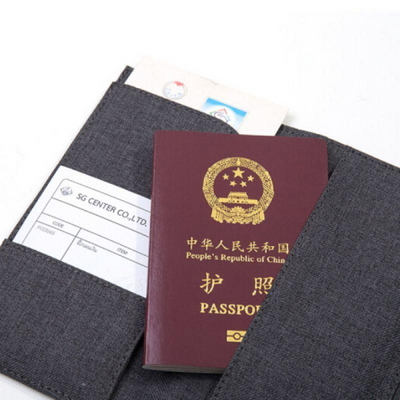 누사인 NS463 패브릭 여권 수납백