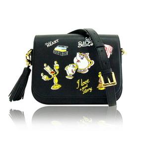 Biel x Disney _ Beauty and the Beast normal cross bag