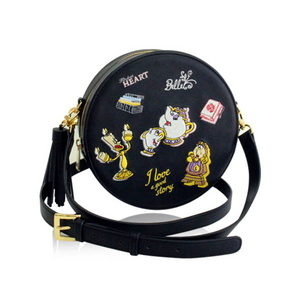 Biel x Disney _ Beauty and the Beast circle cross bag