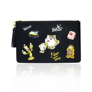 Biel x Disney _ Beauty and the Beast clutch bag