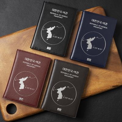 소가죽 안티스키밍 독도 여권케이스
