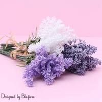조화 꽃 라벤더 30cm BBF1773