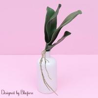 조화 꽃 오키드 30cm BBF1775