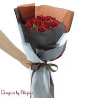 비누장미 꽃다발 다크레드(20송이) BBF1784