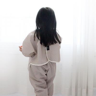 갤러그 유아 방수 미술가운-상하세트