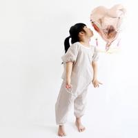 갤러그 유아 전신미술가운 - 반팔