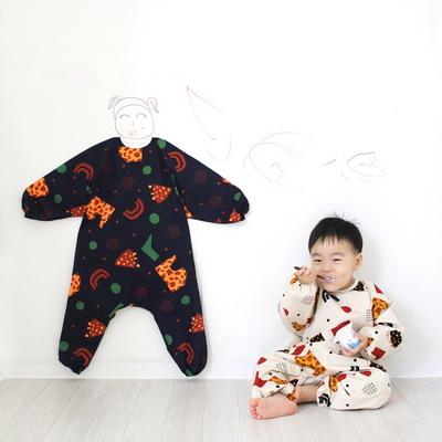 토이 유아 전신 미술가운-2color