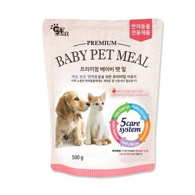 반려동물 이유식 및 영양보조제 베이비 펫밀 500g 모유대용가능