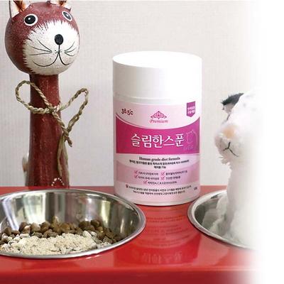 슬림한스푼 For Cat 고양이체중조절 다이어트 헤어볼