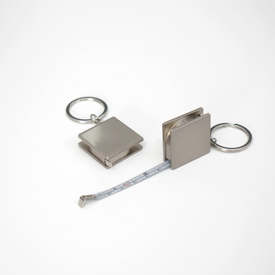 심플한 미니 금속 줄자 (inch+ cm)