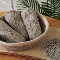 천연 삼베실 - 친환경실 삼베수세미 뜨개질