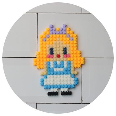 블럭 K53 아라공주 유치원생 어린이집 선물세트