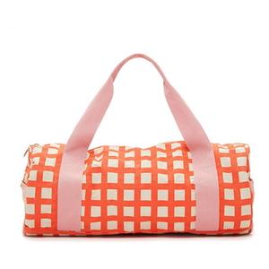 work it out gym bag-lattice