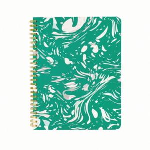 rough draft mini notebook-marble(green)