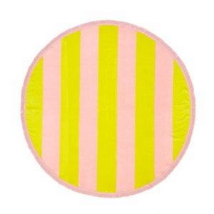 all around giant towel-beverly stripe