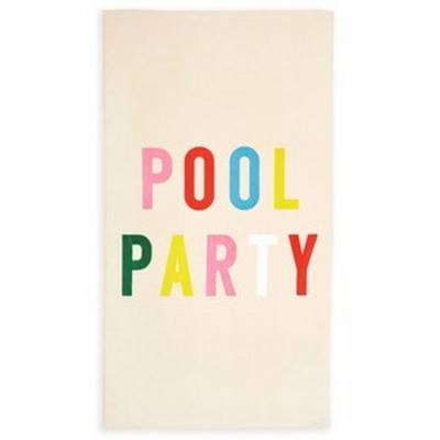 giant beach towel-pool party