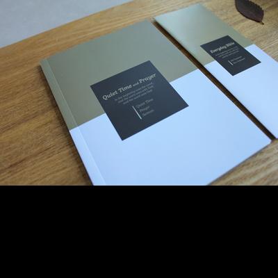 Prism Brown-큐티노트+기도노트+설교노트(성경읽기표 포함)-피터카페
