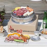 캠핑혁명! 일회용 숯불구이 JMT ~