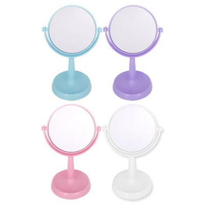 탁상거울3-원형플라스틱.회전양면거울