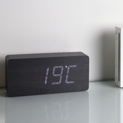 D6016 우드 LED 탁상시계