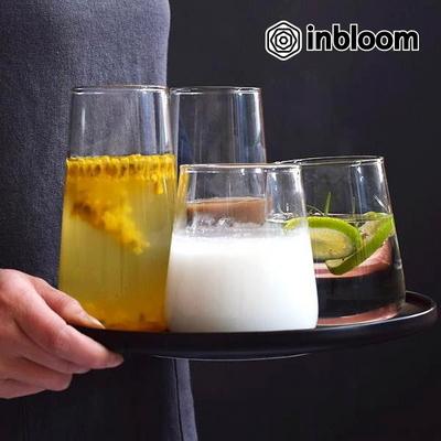인블룸 북유럽스타일 심플 투명유리컵