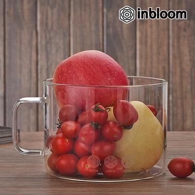 인블룸 내열 강화 대용량 투명 유리컵