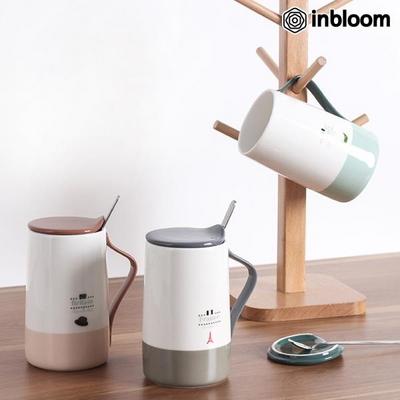 인블룸 유러피안 티스푼홀더 카페머그컵