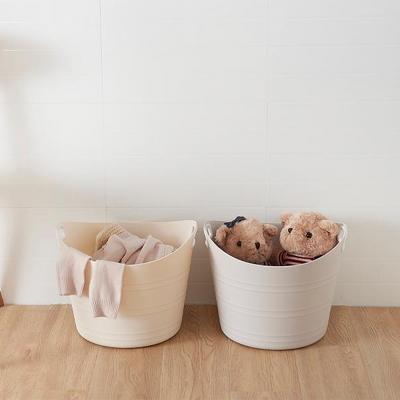 인블룸 모던라인 원형 빨래 세탁바구니