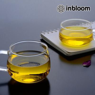 인블룸 1+1세트 내열유리 티머그컵(뚜껑포함)500ml
