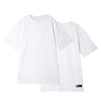 (UNISEX)스탠다드 레이어드 롱 티셔츠(White)